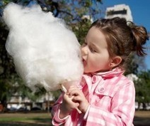 Mighty Clouds of Joy—The Pleasures of Cotton Candy | Fiesta 4 Kids | Scoop.it