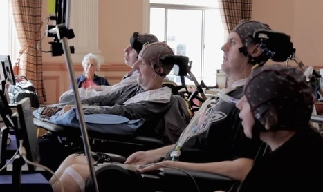 Watch Quartet of Paralyzed Musicians Play Music With Only Their Minds - Good News Network | This Gives Me Hope | Scoop.it