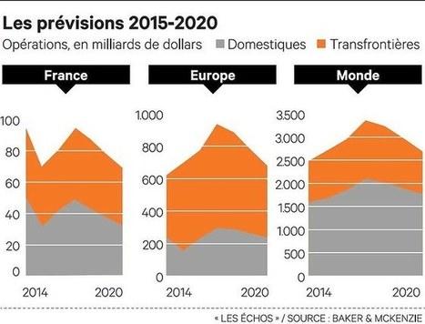 Fusions-acquisitions: la France à revers de la dynamique mondiale I Anne Drif | Entretiens Professionnels | Scoop.it
