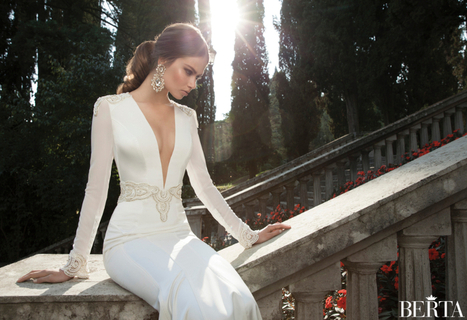 The Berta 2014 Winter Collection: 11 Stunning wedding Gowns | Getting Married | Scoop.it