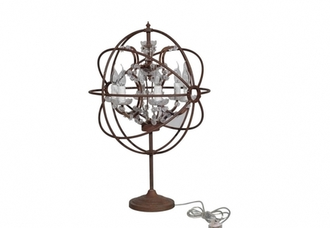 Table Lamp Gyro & Crystal - Antique Lamps   Timothy Oulton   3D Product Design   Scoop.it