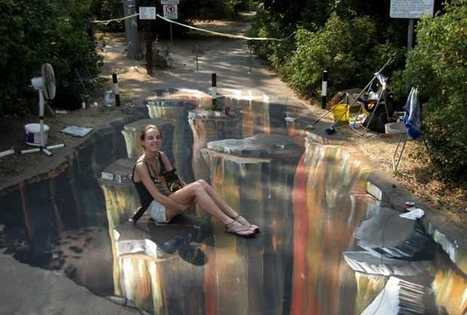 Moscow: 3D Art In Parks | Links Gutter | What Surrounds You | Scoop.it
