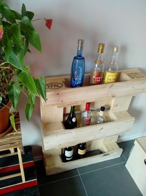 Small pallet bar | 1001 Pallets | bancoideas | Scoop.it