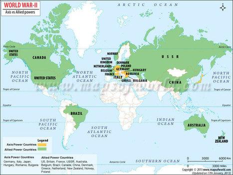 World War II Map, Second World War Map, World War 2 Map | Academic | Scoop.it