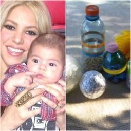 Shakira est une maman inventive et écolo, la preuve avec les jouets ... - Zest Of People | Jeux store | Scoop.it
