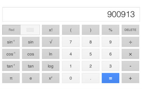 Google Search Gets a Cool, Useful Calculator | Technology for school | Scoop.it