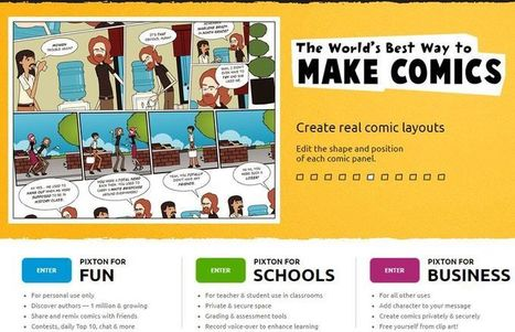 5 aplicaciones web gratuitas para crear cómics online | educación integral | Scoop.it