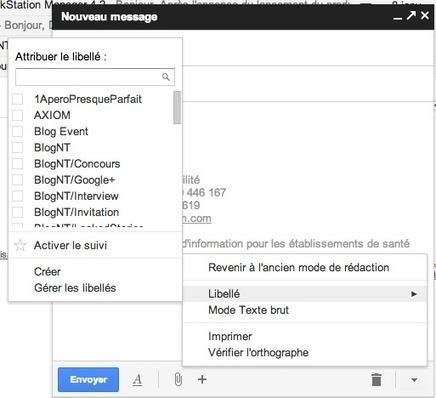Google ajoute des fonctionnalités à son nouveau mode de rédaction | netnavig | Scoop.it