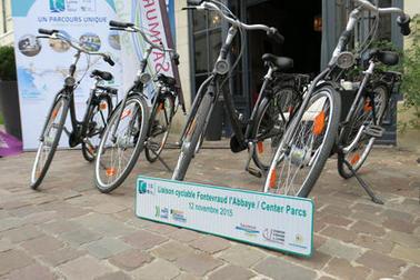 Nouvelle liaison cyclable : de La Loire à Vélo à Center Parcs via l'Abbaye de Fontevraud - Actualités - Loire à Vélo   Tourisme Loudunais   Scoop.it