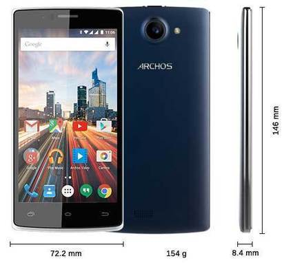 Archos 50d Helium 4G Specs with Dual Sim and Snapdragon processor revealed - HandyTechPlus   Tech Scoop   Scoop.it