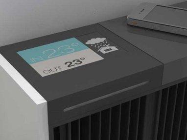 Voici le radiateur intelligent nouvelle génération | Sustainability - Living Eating Working Traveling | Scoop.it