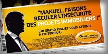 Une agence immobilière interpelle Manuel Valls dans une publicité ...!!! | API | Scoop.it