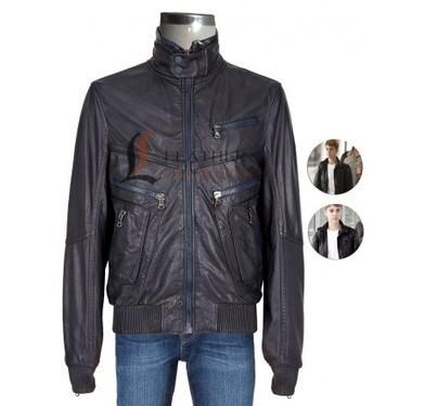 Justin Bieber Multi pocket slim fit bomber jacket | Unique collection of celebrity jackets its now | Scoop.it