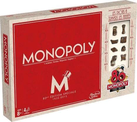 Monopoly fête ses 80 ans avec 80 boîtes pleines de vrais billets !   Insolite   Scoop.it