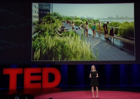 """TEDTalk: """"The importance of public space: how it make work to cities"""" by Amanda Burden 