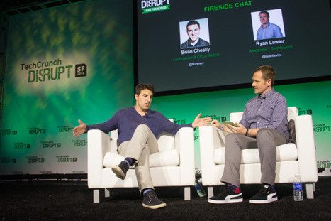 Brian Chesky – Hotels And Airbnb Are The Same But Different - TechCrunch | Hotel Representation | Scoop.it