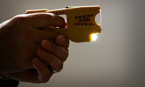 Police in firing line over growing use of Tasers - The Guardian | UK Policing Updates | Scoop.it