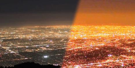 Los Angeles troque ses vieux réverbères contre des LED connectées | Le futur de l'éclairage public | Scoop.it