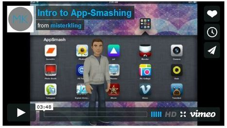 Why we should be App Smashing! - Inside the classroom, outside the box! | St. Patrick's Professional Learning Network | Scoop.it