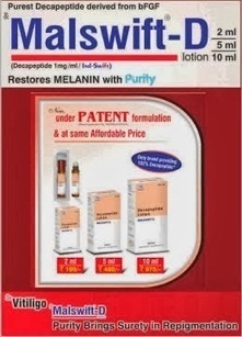 """Indswift: IND-SWIFT PRESESNT MALSWIFT-D – """"RESTORES MELANIN WITH PURITY"""".Part-8 