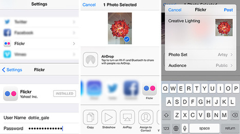Say Hello to Flickr in iOS 7 « Flickr Blog | Photography in the Social Media | Scoop.it