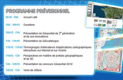Evénement Géoportail le 2 octobre 2012 | Actu des loisirs de plein air | Scoop.it