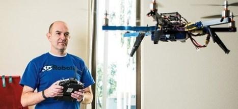 Talking Drones With 3D Robotics CEO Chris Anderson | DronesPassion.com | Peer2Politics | Scoop.it