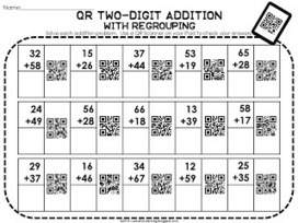 Lucky in Learning: QR Addition- Technology Integration | iPad technology integration | Scoop.it