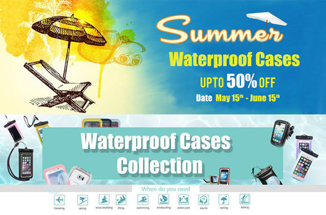 Save 50% on waterproof case for Galaxy S6, Note 4, iPhone 6, HTC One M9 and more   All about smartphone   Scoop.it