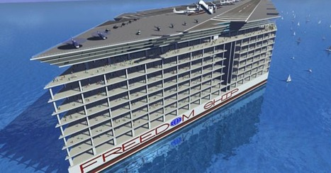 "Tired of Living on Land? Behold the Floating City | L'impresa ""mobile"" 