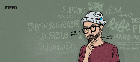 Creative Examples of Illustration in Web Design - youandsaturation | timms brand design | Scoop.it