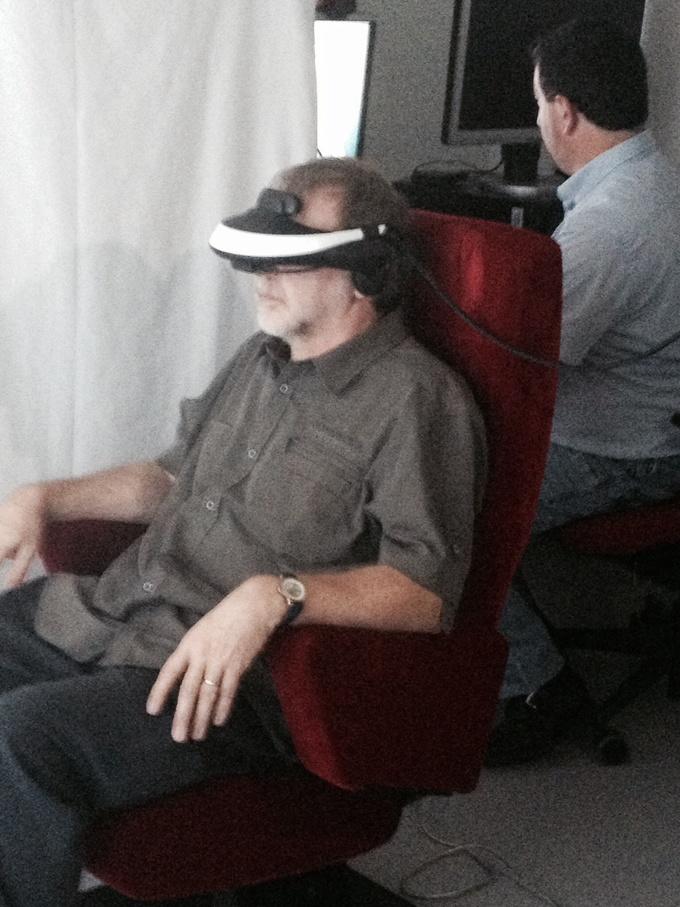 Les phobies traitées par réalité virtuelle au service psychiatrie du CHU de Charleroi
