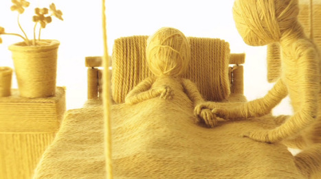 Moving On: A Stop-motion Music Video for 'James' Made with Yarn by Ainslie Henderson | Skab dig! | Scoop.it