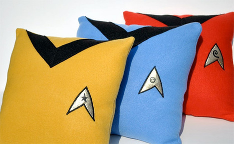 Star Trek Pillows | All Geeks | Scoop.it