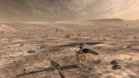 Helicopter Could be 'Scout' for Mars Rovers | Cognitive Engineering | Scoop.it
