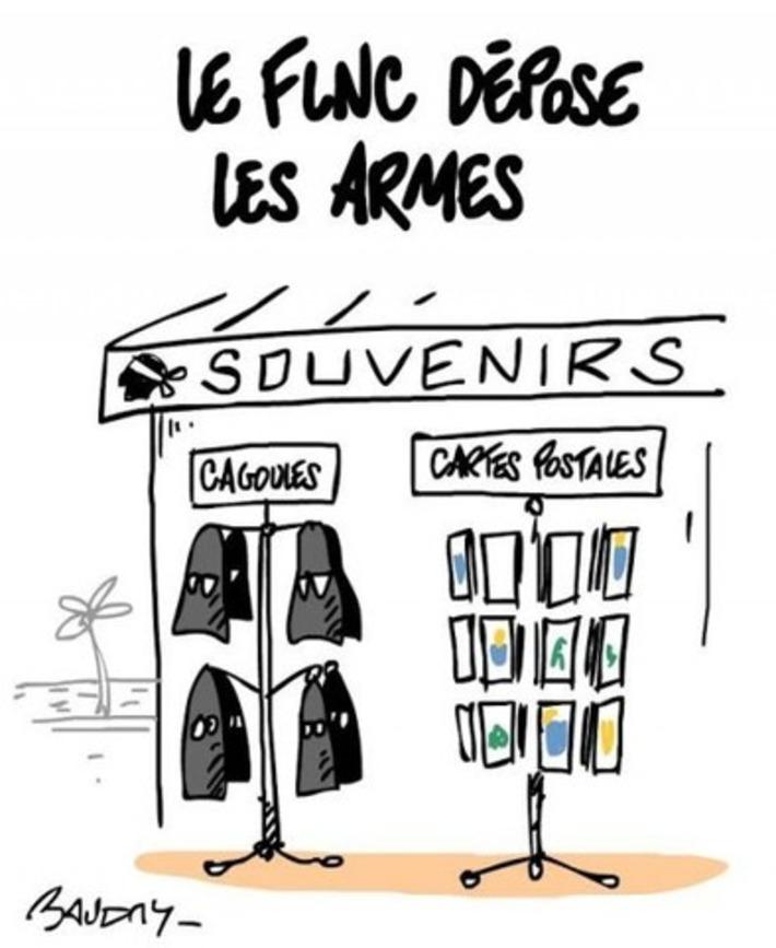 Le FLNC dépose les armes | Baie d'humour | Scoop.it