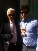A great, 'I Ran Into Karl Lagerfeld on the Street' Story | FashionGeek | Scoop.it