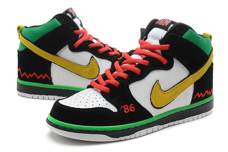 """Nike SB Dunk High Pro Premium """"McRad"""" Sports Sneakers for Sale 