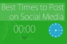The Best Times To Post On Facebook, Twitter, Google+, LinkedIn And Pinterest [INFOGRAPHIC] - AllTwitter | Internet Marketing | Scoop.it