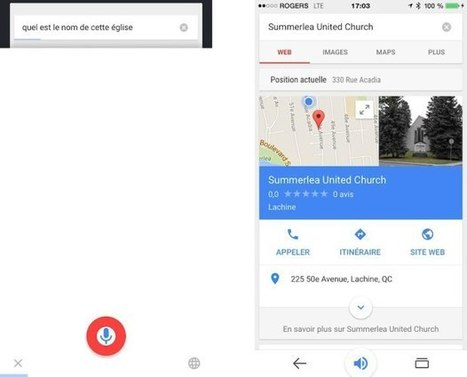 Google géolocalise et contextualise vos recherches vocales | Food News | Scoop.it