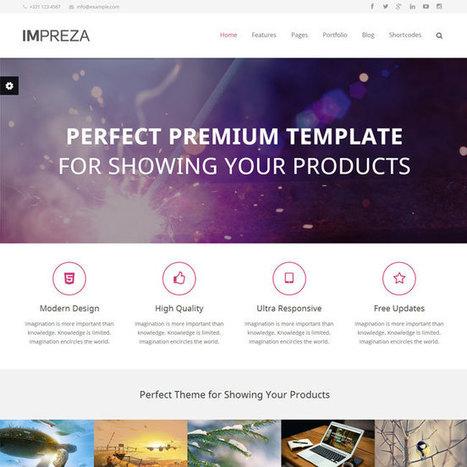 Impreza WordPress Theme | WordPress Theme Download | Best WordPress Themes 2013 | Scoop.it