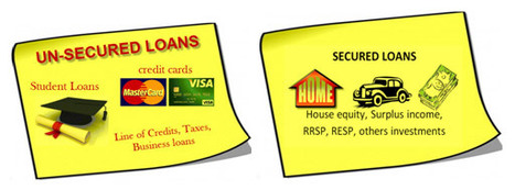 Know the difference between Secured vs Unsecured Debt | Interesting Archives | Scoop.it