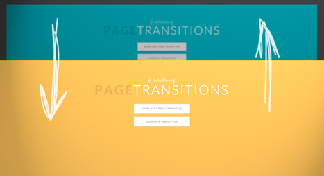 A Collection of Page Transitions | Codrops | Web Developer | Scoop.it