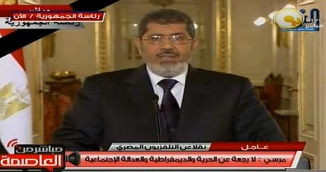 Discours du Pt Morsi | Égypt-actus | Scoop.it