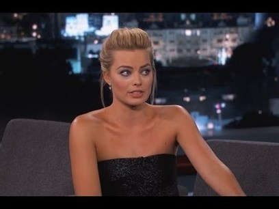 Margot Robbie on Jimmy Kimmel Live PART 2 | Funny Viral Videos | Scoop.it