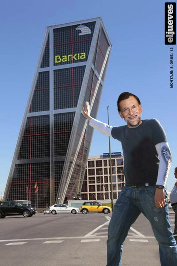 Mariano Rajoy, dispuesto a inyectar dinero público a los bancos · eljueves.es · Actualidad | Partido Popular, una visión crítica | Scoop.it