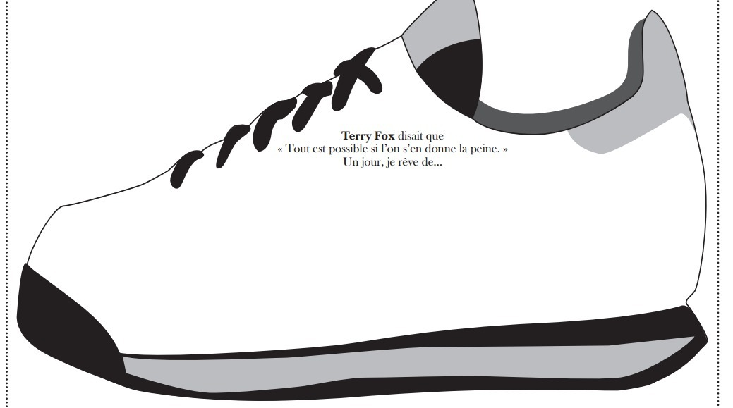 Terry Fox Sneaker Activity : Primary French Imm...