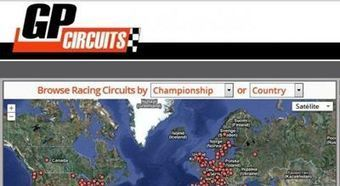 GPCircuits, los circuitos de MotoGP y F1 en Google Maps | #GoogleMaps | Scoop.it