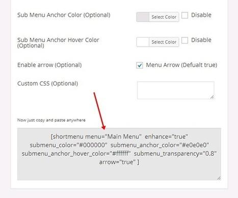 How to Create Shortcode for WordPress Menu - WPSpeak.com | WordPress Tip and Tutorials | Scoop.it