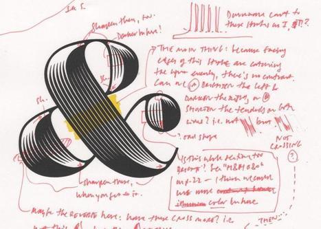 Comment se crée une police de caractères : petite explication illustrée avec Obsidian | Social Media, etc. | Scoop.it